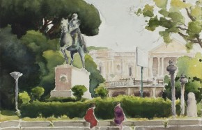 SASHA DRUTSKOY : VOYAGE À ROME