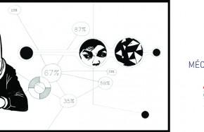 MECANIQUES DISCURSIVES ( Mélange de gravure et de projection vidéo/ installations audiovisuelles)