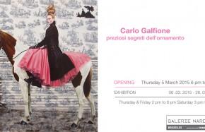 Carlo Galfione : preziosi segreti dell'ornamento